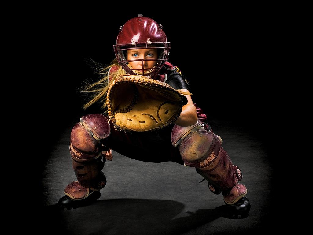 Catcher Softball Softball Catcher Flickr
