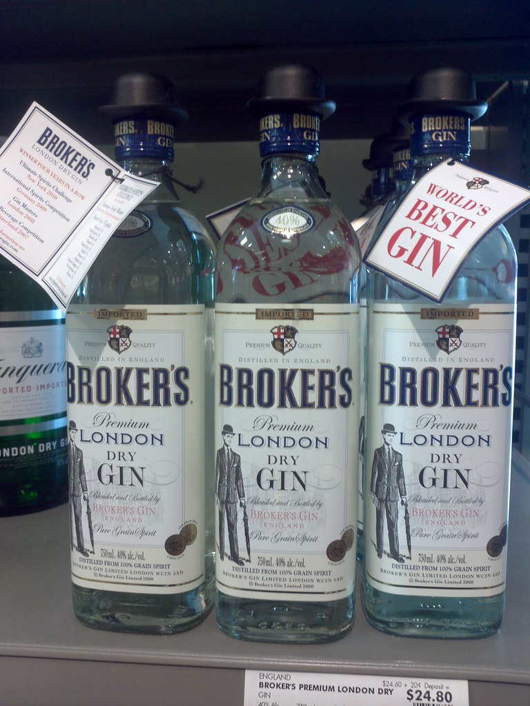 Broker's Gin - World's Best Gin