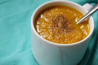 spicy butternut squash soup | by Stacy Spensley
