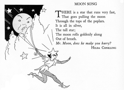 Moon Song illustrated by Billie Parks
