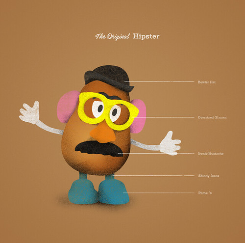 Mr Potato Head, The Original Hipster | by devgupta86