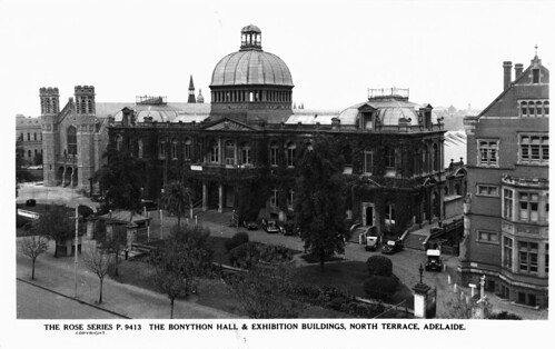 Bonython hall and exhibition buildings north terrace for 108 north terrace adelaide