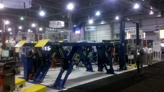 Booth 4871 - BendPak at AAPEX '11 - Second day 1 | by BendPak