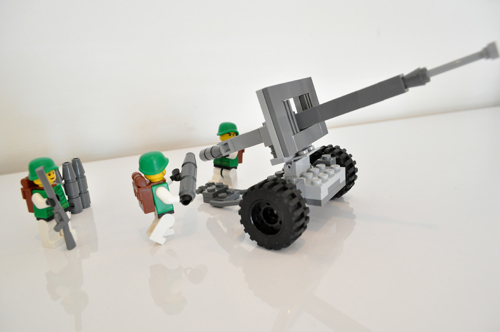 Lego Ww2 Cannon images