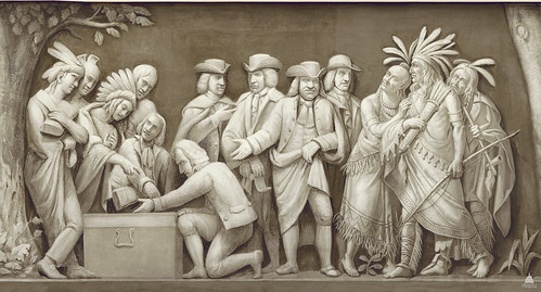 William Penn and the Indians | by USCapitol