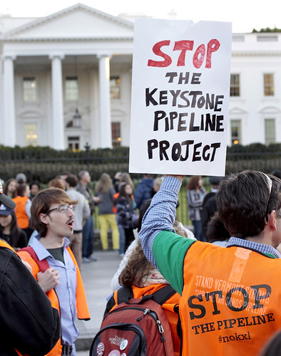 Keystone XL Pipeline Protest at White House | by tarsandsaction