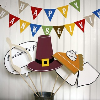 Thanksgiving Photo Booth Props | by Simply Silhouettes