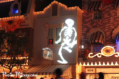 skeleton on main street, USA | by Finding Mickey