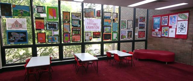 Combined Schools Art Exhibition 2011