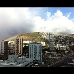 Same rainbow, different color filter. by Discover Hawaii Tours