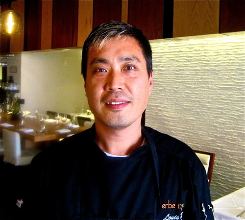 Exec Chef Louis Kim of Erne Matte - backpage | by jayweston@sbcglobal.net