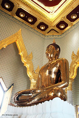 Golden Buddha by Nicolas Lalande