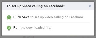 To set up video calling on Facebook | by stevegarfield