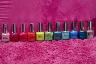 Pure Ice nail polish collection | by Jenn ♥