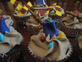 Harry Potter Cupcakes | by ashleycupcakes