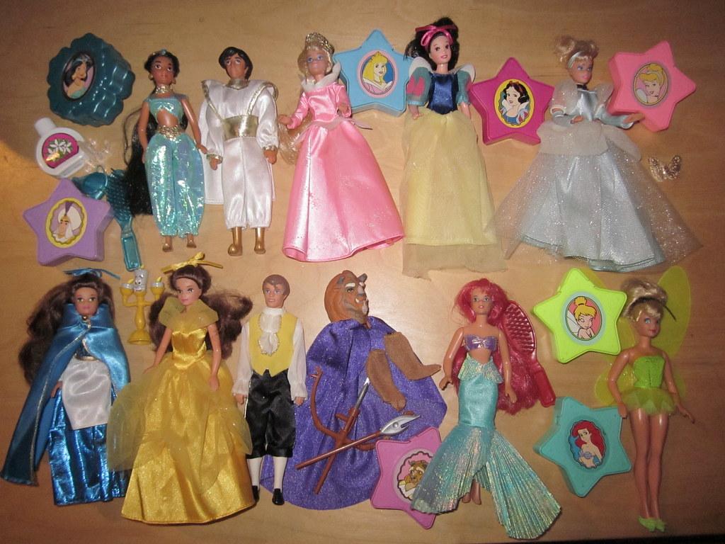 Doll Mini Disney Princess