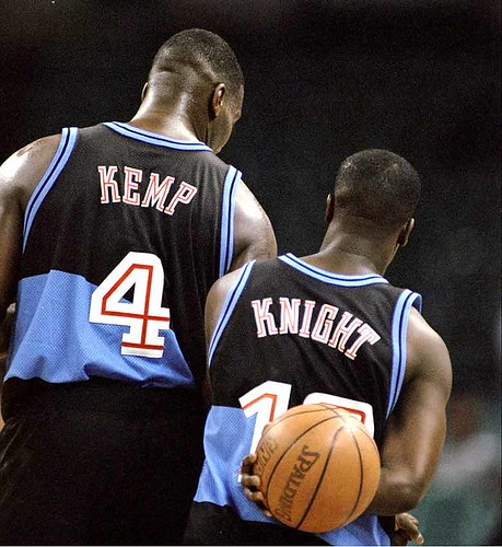 Kemp and Brevin | by Cavs History