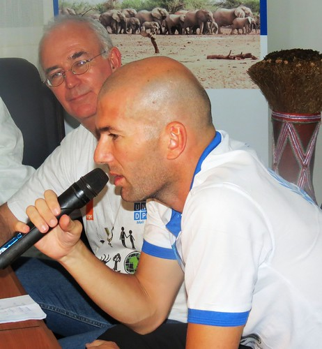 Zidane visits Mali | by United Nations Development Programme
