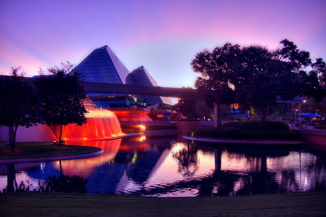 So let me walk these coals till you believe (Imagination Pavilion, EPCOT)