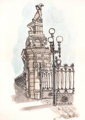Access to the Park de la Ciutadella - Barcelona by shiembcn