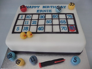 Bingo Cake Flickr Photo Sharing