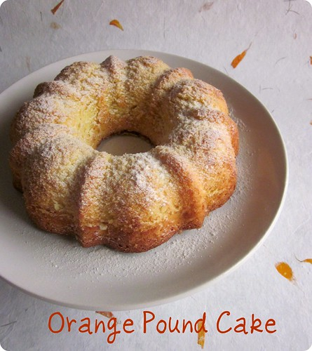 Orange Pound Cake | by easycooking