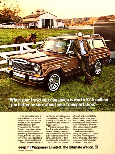 1983 Jeep Wagoneer Limited | by aldenjewell