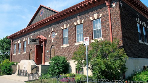 The St. John's Branch of the Winnipeg Public Library at 500 Salter Street. Photo courtesy of the Winnipeg Public Library.