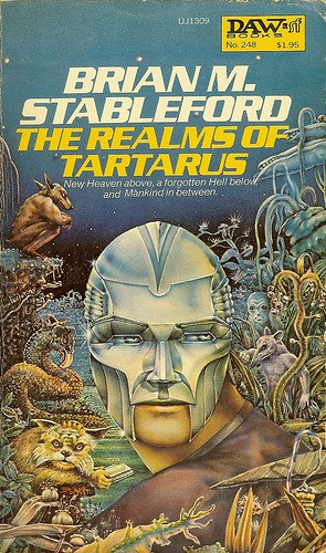 Realms of Tartarus - Brian M. Stableford - cover artist Ron Walotsky