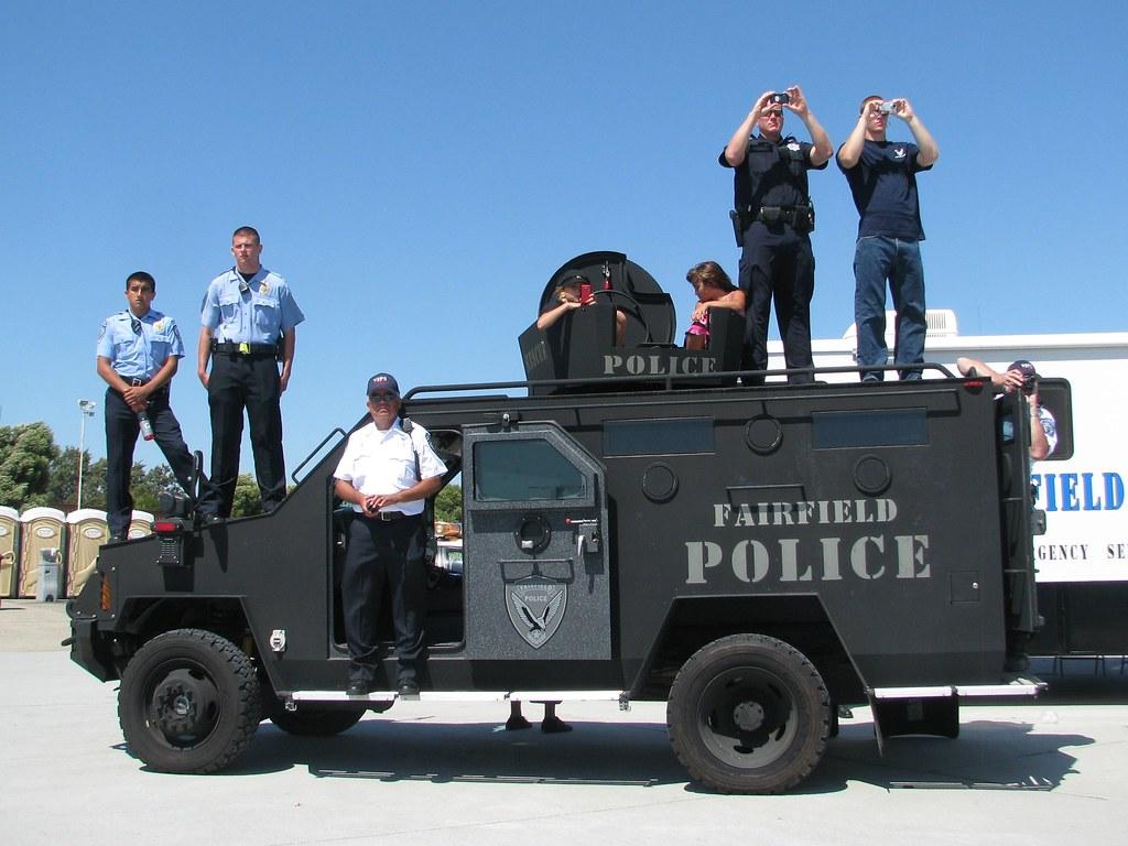 Fairfield California Police Department Rescue Vehicle