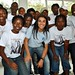 8 - Marta with the Sierra Leone women's football team