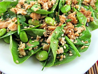 Asian Spinach Salad | by CinnamonKitchn
