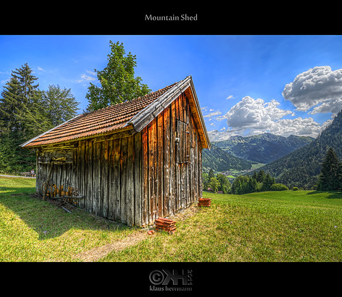 Mountain Shed (HDR) - Source Photos Available!!! | by farbspiel