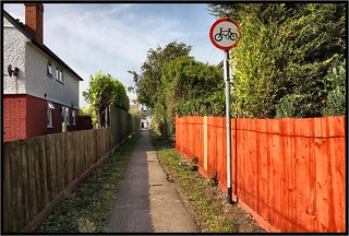 Cycle path, Blaby. | by Pat Dalton...