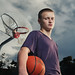 Seattle Basketball Senior Portrait