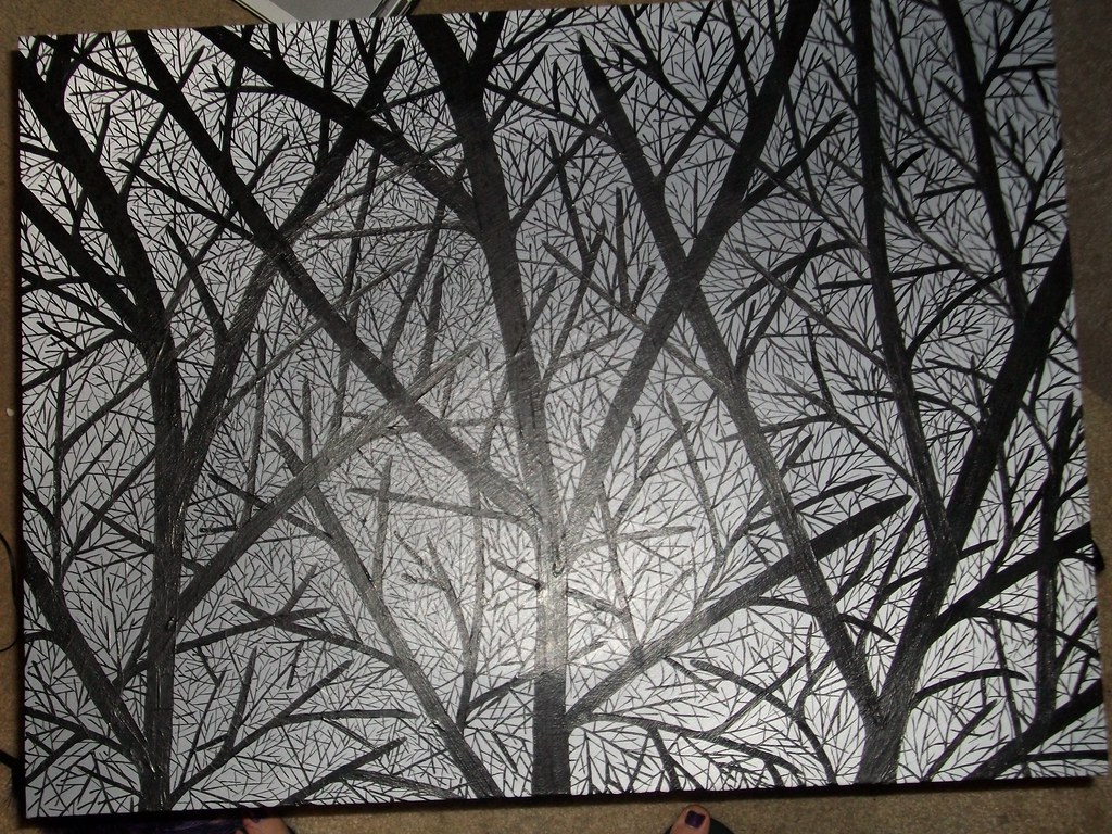 Stunning Winter Tree Silhouette - Inner Child Fun