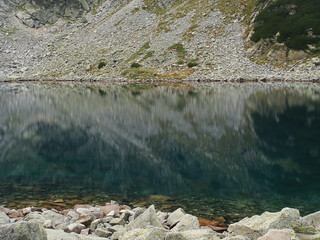 Lake in the Mountain | by La Singularidad Desnuda