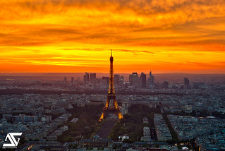 Sunset from Montparnasse | by A.G. Photographe