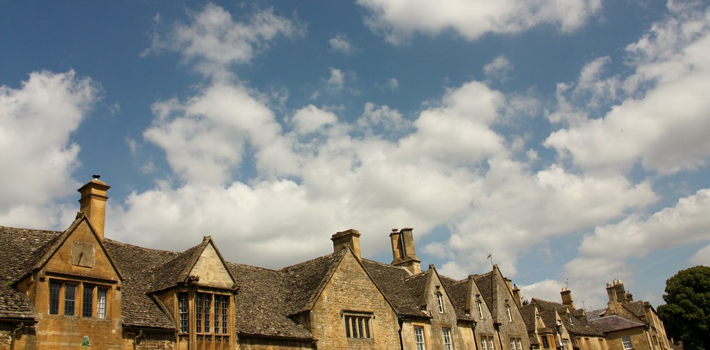 Chipping Campden - roofline