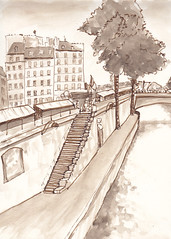 Bord de Seine by martinesan