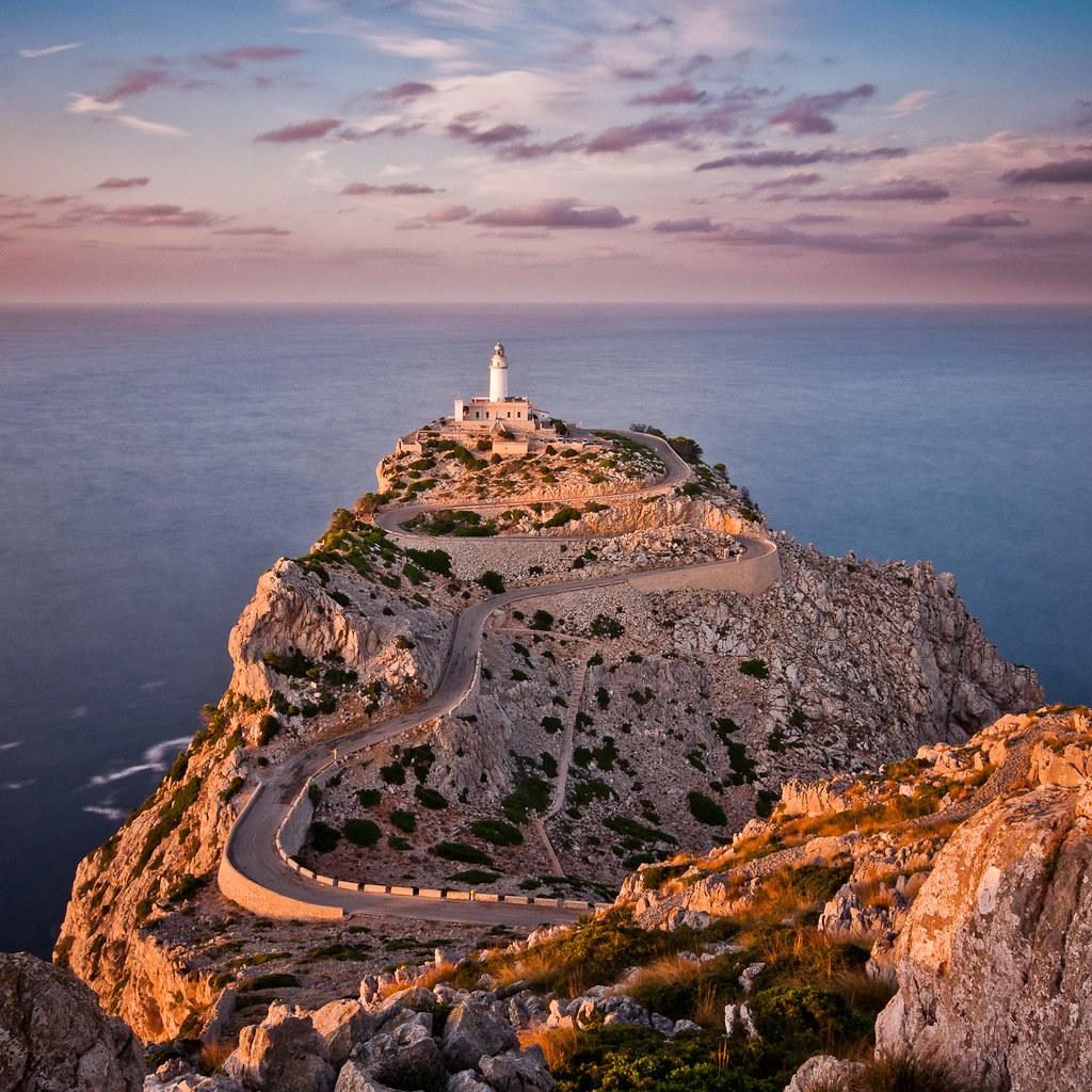 Faro, costa, top, mejores, mas bonitos, faros, formentor, mallorca, islas baleares