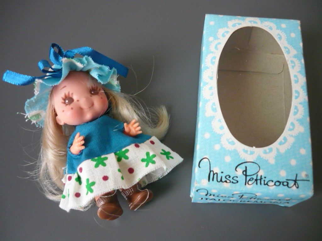 80s Doll Maker 80s Miss Petticoat Doll in