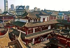 panorama, Yu Bazaar, Shanghai by seems33