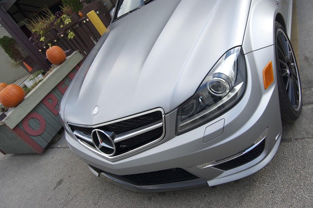 After 2012 mercedes benz c63 amg in designo magno for Mercedes benz matte paint
