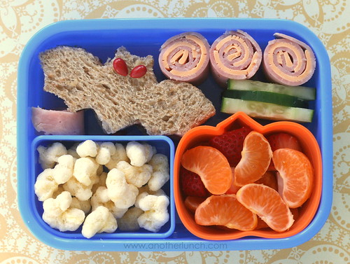 batter up lunch: toddler bento box | by anotherlunch.com