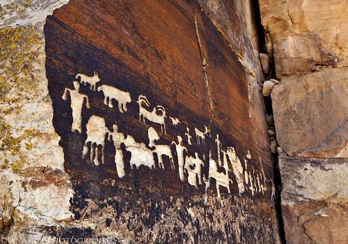 Canaan Gap Petroglyphs