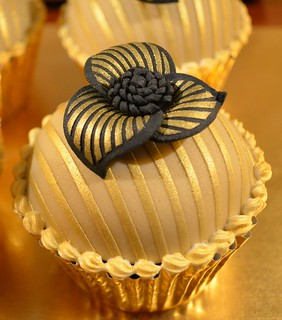 Gold and Black  [Explore] | by Hilary Rose Cupcakes