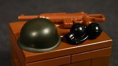 GI Brick Product Images Contest Part 6: M1 Steel Pot Helmet by TheBrickRepuplic.