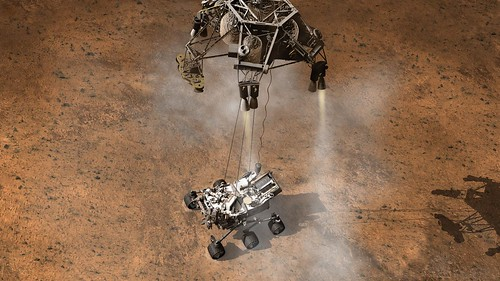 Curiosity Touching Down, Artist's Concept | by NASA Goddard Photo and Video