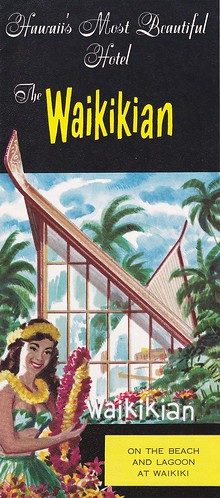 The Waikikian Hotel Brochure 1963 | by hmdavid